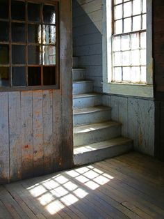 Stairs and window - Photo by Mark Kimball Moulton