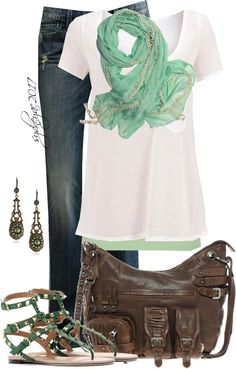 """Classic Trio"" by sydneyac2017 ❤ liked on Polyvore"