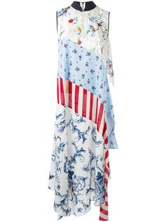 Shop online blue Antonio Marras patchwork maxi dress as well as new season, new arrivals daily. Day Dresses, Summer Dresses, Antonio Marras, Patchwork Dress, Blue Maxi, Couture Collection, Women Wear, Womens Fashion, How To Wear