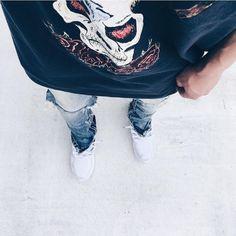http://SneakersCartel.com ⠀ #OutfitFromAbove 📷 @shun_0423 ▪️ #Yeezy #Tee ▪️ @mnml.la... #sneakers #shoes #kicks #jordan #lebron #nba #nike #adidas #reebok #airjordan #sneakerhead #fashion #sneakerscartel