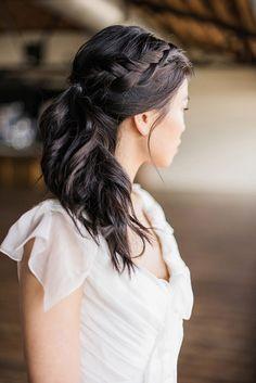 Loose Braided Bridal