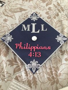 Graduation Cap - Philippians 4:13