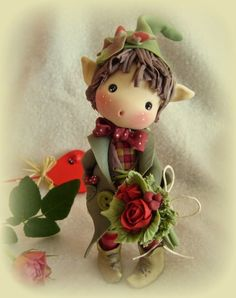 *COLD PORCELAIN ~ A place to dream ... dolls, fairies and elves by jacklyn