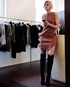 sofie-valkiers-editora-street-style-vestido-bota-over-the-knee
