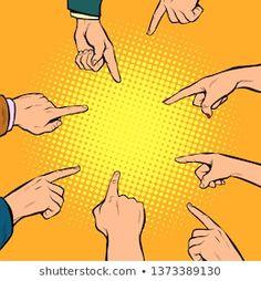 hands point to the center. Pop art retro comics cartoon vector illustration kitsch drawing in 2019 Pop Art Background, Poster Background Design, Framed Wallpaper, Pop Art Wallpaper, Art Pop, Desenho Pop Art, Farmasi Cosmetics, Pop Art Illustration, Art Graphique