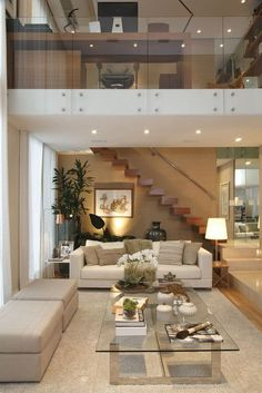 Beautiful living space design