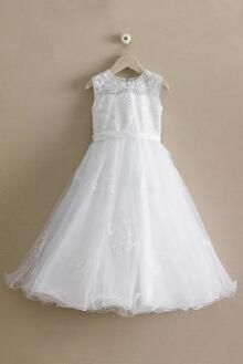 Girls Beaded Lace Dress