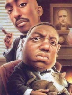Arte Hip Hop, Hip Hop Art, African American Art, African Art, Tupac Y Biggie, Chris Brown, Rapper, Cinema Tv, Black Art Pictures