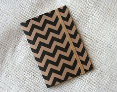 Stripes notebook.