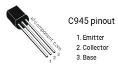 C945 transistor pinout