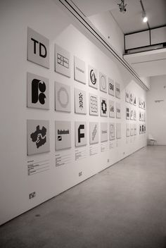 Wim Crouwel – A Graphic Odyssey (2011) exhibition design at the Design Museum