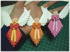 spazio alla mia fantasia: angioletti di carta