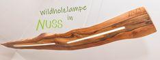 Wildholzlampe in Nuss Clothes Hanger, Coat Hanger, Clothes Hangers, Clothes Racks