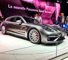 Porsche Panamera Sport Turismo at Geneva Motor Show 2017. #quickcarreview #instacar #carswithoutlimits #porsche #porschepanamera #gims2017 @porsche @porscheclub @porsche___panamera