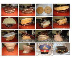.military/law enforcement hat cake