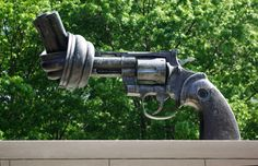 Non-violence - the Knotted Gun - United Nations