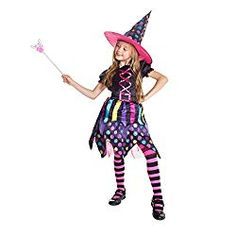 Morph Costumes Girls Magical Witch Halloween Costume Small 4348 *** See the photo link more details. (This is an affiliate link).