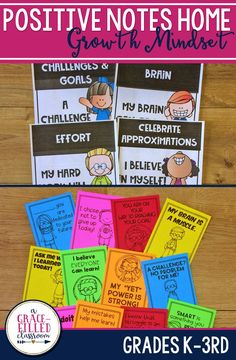 Developing a Growth Mindset Community is critical in helping students achieve to their highest potentional. These growth mindset notes will hep you promote a positive classroom environment where students are praised for effort and feel comfortable taking academic risks.|Growth Mindset|