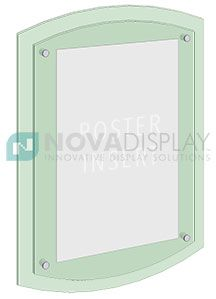 Use Our Standoff Supports With Joiner To Create Double Depth Poster Displays Customizable