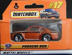 Model Matchbox Porsche 959
