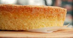 Tämä gluteeniton kakkupohja on aivan yhtä maistuva ja mehevä kuin normaaleilla jauhoillakin leivottu.