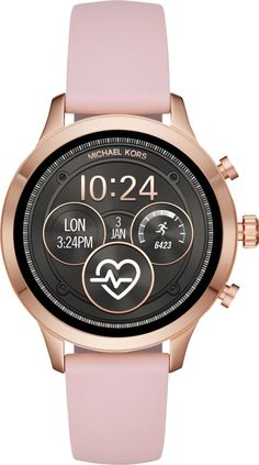 6e0faf4817e2 Michael Kors - Access Runway Smartwatch 41mm Stainless Steel - Rose  Stainless... 796483409361