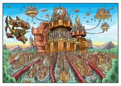 http://th02.deviantart.net/fs71/300W/i/2011/038/4/5/steampunk__the_clockwork_city_by_kneont-d391o9t.jpg