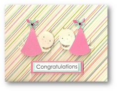 33 best cards twins images on pinterest twins baby cards and