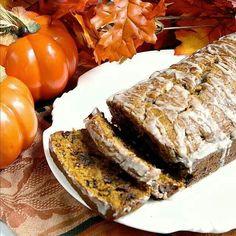 Pumpkin chocolate chip bread!