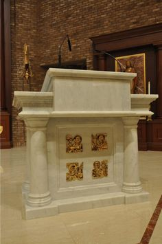 Full-service liturgical design: Everything your church needs: design, fabrication, on-site construction.