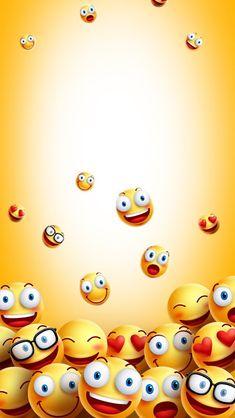 Cartoon Wallpaper, Emoji Wallpaper Iphone, Smile Wallpaper, Phone Screen Wallpaper, Iphone Background Wallpaper, Cellphone Wallpaper, Colorful Wallpaper, Emoji Love, Funny Emoji
