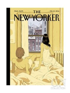 Perfect Storm - The New Yorker Cover, February 10, 2014 Poster Print by Tomer Hanuka at the Condé Nast Collection