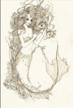 Perfection. #Mermaid #tattoo