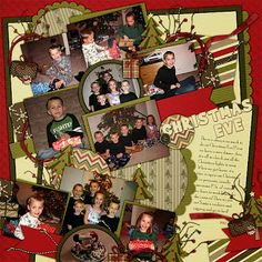 Kit: Here We Come A Caroling by Scraps N Pieces Template: Pack 54 by AKDesigns
