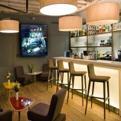 le bar du Jules & Jim Hôtel Paris