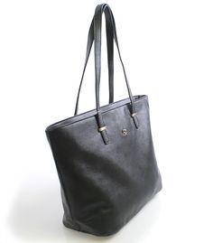 Černá elegantní kabelka přes rameno David Jones Milano