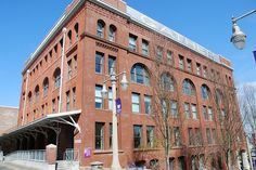 Adaptive Reuse:  Warehouse to Classroom Building, University of Washington Tacoma by JoeInSouthernCA, via Flickr