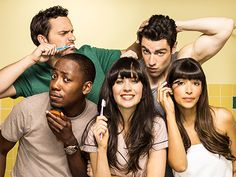 """24 Symptoms Of A """"New Girl"""" Addiction 
