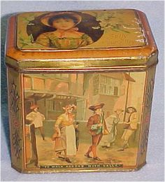 Advertising Tins - Aubrey's Antiques