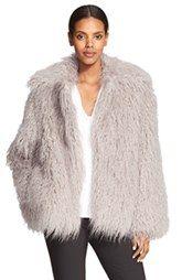 Stella McCartney 'Thelma' Faux Fur Coat