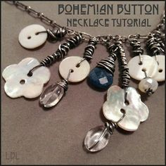 Dishfunctional Designs Button Bracelet. I love it! ☀CQ #jewelry #crafts Thanks for sharing!