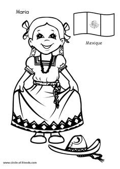 Best Coloring: Children from around the world coloring pages - Amazing Coloring sheets - Detailed Coloring Pages, Coloring Pages For Girls, Coloring For Kids, Colouring Pages, Free Coloring, Coloring Sheets, Coloring Books, Kids Around The World, Around The Worlds
