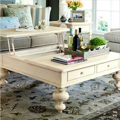 Wafare is giving this coffee table enter to win.