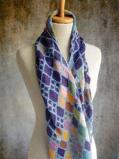 Sophie Digard, Lozenges Lilliput scarf