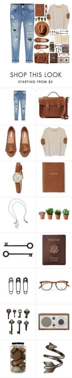 """""""I guess I'll always be hanging round with the wrong crowd"""" by annaclaraalvez ❤ liked on Polyvore featuring The Cambridge Satchel Company, Urban Outfitters, Kate Spade, Monica Rich Kosann, Pamela Love, Royce Leather, Garrett Leight, Advantus and Tivoli Audio"""
