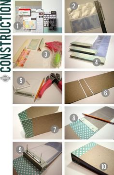 Kirstens Stempelkiste: Pocket Mini Page with link to Kathy Orta's video tutorial (in English)