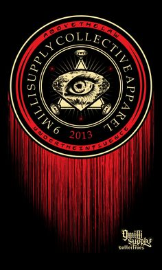 Artist: Paulo Tria aka Flick Picasso Title: Illuminati Work done for 9 Milli Supply Collective