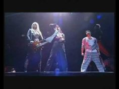 "MICHAEL JACKSON'S ""This Is It"" Tour. This is the rehearsal scene  ""They Don't Care About Us"" performed 48 hours before his death. If you haven't seen the movie/concert dvd ""This Is It""...it is excellent. Would have been a great tour. RIP Michael."