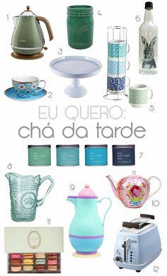 Chá da Tarde de Bonecas! Inspiração para receber os convidados com muito charme: utensílios, decoração, xícaras, pedestais e etc.