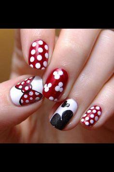 New mickey nails
